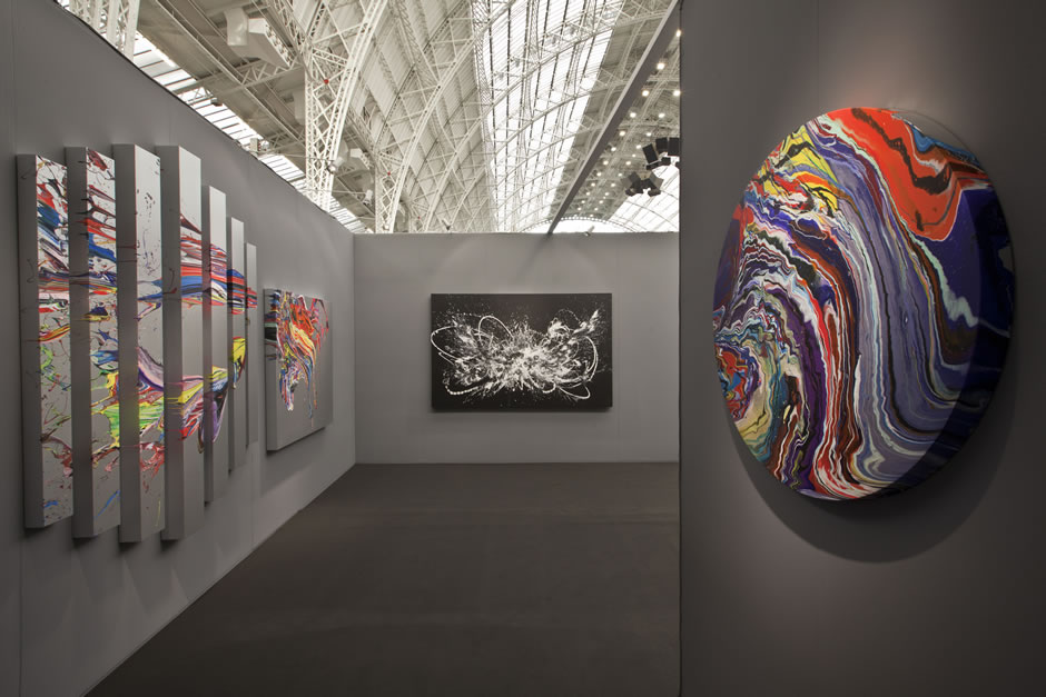 Fridriks_soloshow - view -boothART13 London-2013
